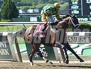 Palace Malice wins the 2014 Met Mile.