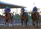 "Bayern (right) and California Chrome (left) in the Breeders' Cup Classic.<br><a target=""blank"" href=""http://photos.bloodhorse.com/BreedersCup/2014-Breeders-Cup/Classic/i-3rVNTqN"">Order This Photo</a>"