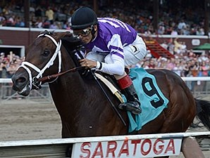 Competitive Edge - Maiden Win, July 26, 2014.