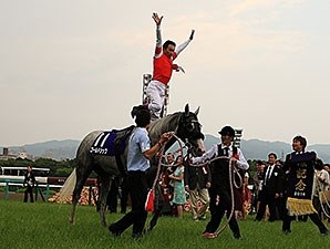 Gold Ship wins the 2014 Takarazuka Kinen.