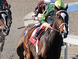 She's Our Annie wins the 2009 Esplanade Stakes.