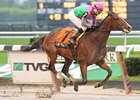 Icon Project Wins Muddy New York Stakes