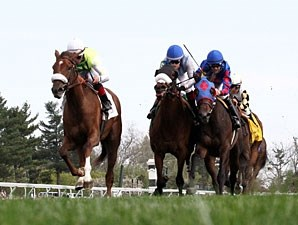 Unbelievable Dream wins the 2013 Appalachian Stakes.