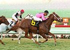 Kaigun Storms From Last to Seabiscuit Win