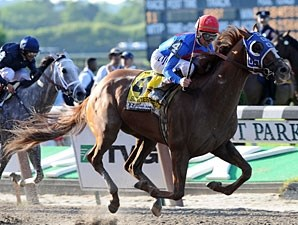 Summer Bird wins the 2009 Belmont Stakes.