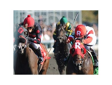 "Holiday for Kitten (right) holds off Musical Romance to win the Thoroughbred Club of America.<br><a target=""blank"" href=""http://www.bloodhorse.com/horse-racing/photo-store?ref=http%3A%2F%2Fpictopia.com%2Fperl%2Fgal%3Fprovider_id%3D368%26ptp_photo_id%3D9701098%26ref%3Dstory"">Order This Photo</a>"
