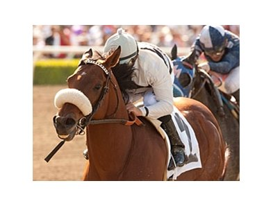 Amazombie and Mike Smith take the Potrero Grande Stakes at Santa Anita Park.