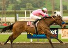 "Gabby's Golden Gal captures the Santa Monica Handicap (gr. I) at Santa Anita. <br><br><a target=""blank"" href=""http://www.bloodhorse.com/horse-racing/photo-store?ref=http%3A%2F%2Fpictopia.com%2Fperl%2Fgal%3Fprovider_id%3D368%26ptp_photo_id%3D8770362%26ref%3Dstory"">Order This Photo</a>"