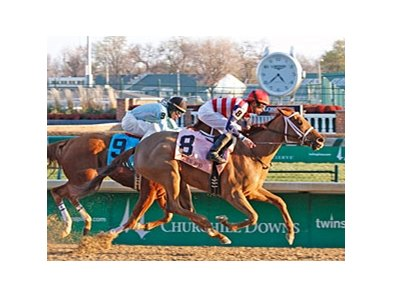 Seaneen Girl upsets the Golden Rod Stakes at Churchill Downs.