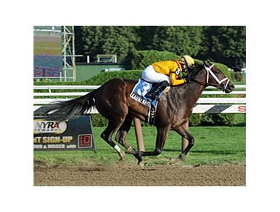 Kauai Katie wins the Adirondack Stakes.