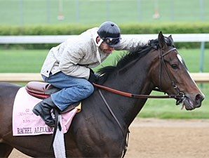 Rachel Alexandra at Churchill Downs, April 16 2009.