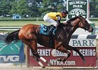 "The Prioress was one of four graded stakes wins for Dream Rush. <br><a target=""blank"" href=""http://www.bloodhorse.com/horse-racing/photo-store?ref=http%3A%2F%2Fgallery.pictopia.com%2Fbloodhorse%2Fgallery%2FS636612%2Fphoto%2F1641247%2F%3Fo%3D2"">Order This Photo</a>"