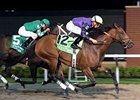 Wild Gams takes the Presque Isle Downs Masters Stakes over Miss Macy Sue.