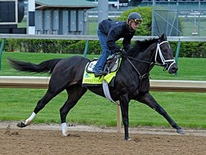 Busy April 27 Work Tab at Churchill Downs