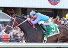 Noosa Beach won the 2010 Longacres Mile at Emerald Downs.