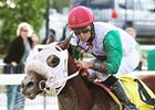 My Pal Chrisy recorded a repeat victory in the Elmer Heubeck Distaff Handicap.