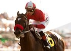 Acclamation to Miss Breeders' Cup With Injury