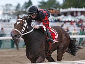 Karmageddon wins the 2011 Jersey Girl Handicap.