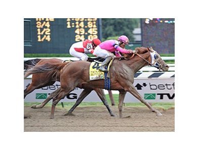 "Blind Luck overtakes Havre de Grace to capture the Alabama Stakes.<br><a target=""blank"" href=""http://www.bloodhorse.com/horse-racing/photo-store?ref=http%3A%2F%2Fpictopia.com%2Fperl%2Fgal%3Fprovider_id%3D368%26ptp_photo_id%3D9154293%26ref%3Dstory"">Order This Photo</a>"