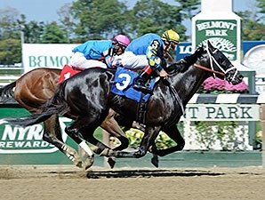 Shanghai Bobby Victorious in Belmont Return