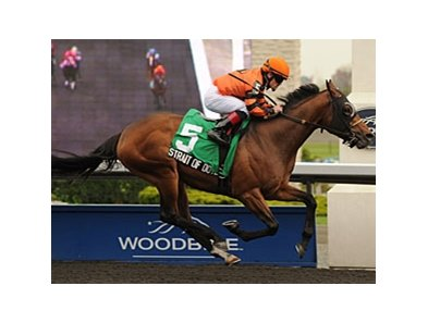 Strait of Dover runs away with the Marine Stakes at Woodbine.