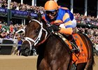 Uncle Mo in the Breeders' Cup Juvenile.