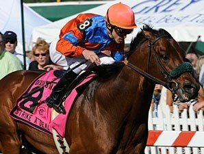 Strike a Deal wins the 2010 Dixie.