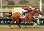 Tapizar and Corey Nakatani dominate the San Fernando Stakes at Santa Anita.