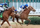 Junebugred in the Smarty Jones Stakes.