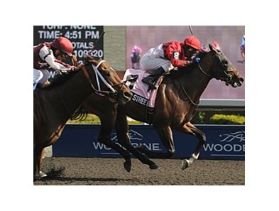 Beeker Street won the Queenston Stakes at Woodbine on May 5.