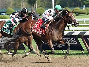 Palace wins the 2014 Alfred G. Vanderbilt Handicap.