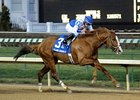 Shackleford goes out a winner in the Clark Handicap.