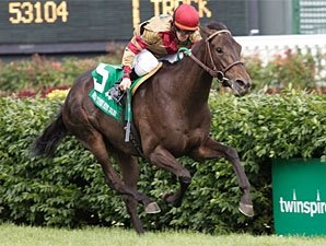Hot Cha Cha Skims Hedge to Win Mint Julep