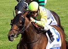 Upperline won the Bewitch Stakes in the spring at Keeneland.