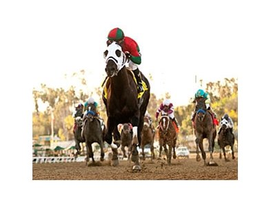 Ultimate Eagle leaves the rest behind in the Strub at Santa Anita.