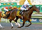Russian Greek won the California Derby by one length on Jan. 14 at Golden Gate Fields.
