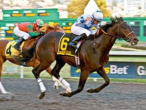 Russian Greek wins the 2011 California Derby.