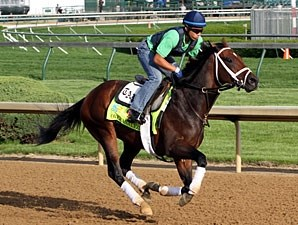 Overanalyze - Churchill Downs, May 2, 2013.