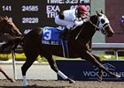 Tribal Belle, making her second start of the year, won the Hendrie Stakes by 1 1/4 lengths at Woodbine.