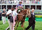 "Ed Stanco (right) with Princess of Sylmar.<br><a target=""blank"" href=""http://photos.bloodhorse.com/AtTheRaces-1/at-the-races-2013/27257665_QgCqdh#!i=2491692711&k=7wm7CH4"">Order This Photo</a>"