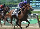 "Mike Lee Stakes winner Amberjack<br><a target=""blank"" href=""http://photos.bloodhorse.com/AtTheRaces-1/at-the-races-2013/27257665_QgCqdh#!i=2548187890&k=kjNL69N"">Order This Photo</a>"