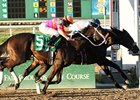 "Wilkinson gets his head in front to win the Lecomte.<br><a target=""blank"" href=""http://www.bloodhorse.com/horse-racing/photo-store?ref=http%3A%2F%2Fpictopia.com%2Fperl%2Fgal%3Fprovider_id%3D368%26ptp_photo_id%3D9379645%26ref%3Dstory"">Order This Photo</a>"