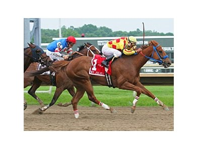 Winning Image takes the My Juliet at Parx.