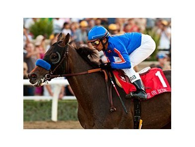 Game On Dude faces 9, including 2012 Santa Anita Handicap winner Ron the Greek, in the 2013 Santa Anita Handicap.