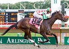 C. S. Silk romps in the Arlington-Washington Lassie.