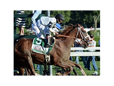 Will Take Charge won the 2013 Travers.