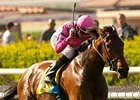 Capital Plan won the Santa Barbara Handicap by 1 1/2 lengths on April 21.