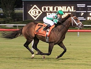 Turbo Compressor wins the 2012 Colonial Turf Cup.