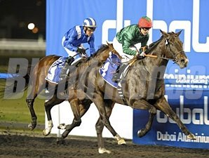 Mendip wins the 2012 Maktoum Challenge Round 2.