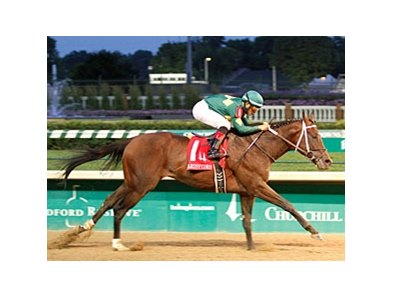 Rothko powers home to win the Aristides at Churchill Downs.